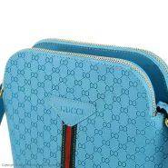 خرید اینترنتی کیف زنانه طرح GUCCI رنگ آبی