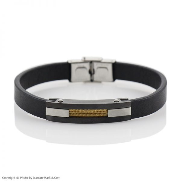 خرید اینترنتی دستبند چرم طبیعی