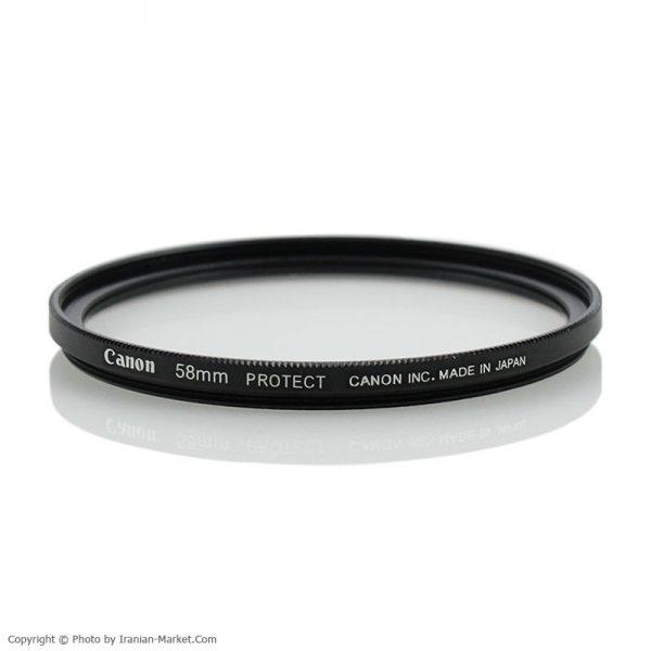 فیلتر لنز UV کوتینگ دار مدل Canon 58mm